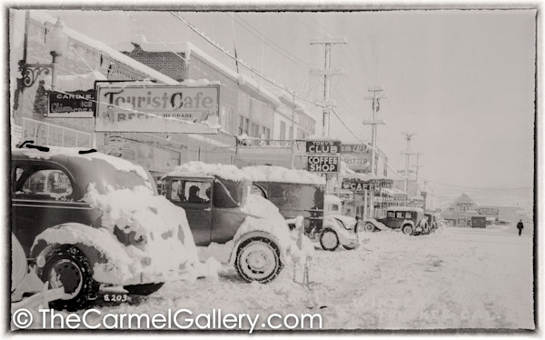 Truckee Tourist Cafe 1930's