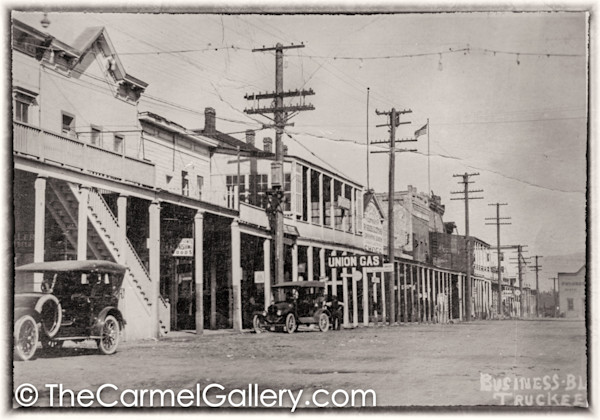 Truckee Business 1920's
