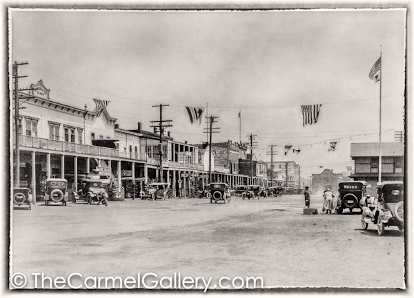 Truckee Main Street 1920's
