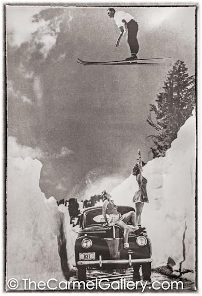 Ski Jumper 1930's