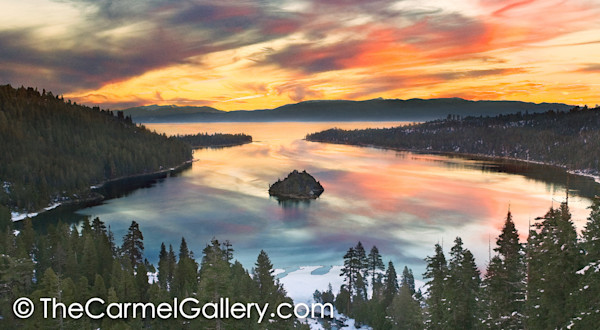 Grand Sunrise Lake Tahoe