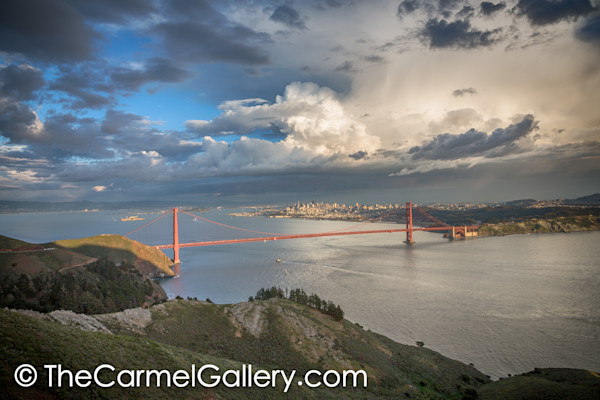 Clearing Storm Golden Gate