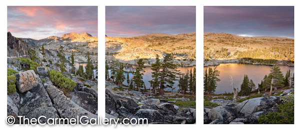 Sunrise Desolation Wilderness ALL
