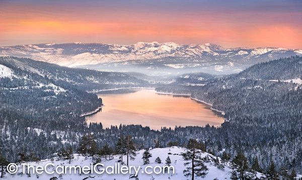 Afterglow Donner Lake