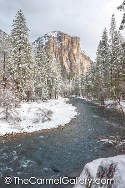 Snowy Morning El Cap