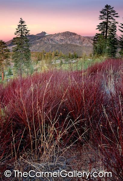 Autumn Dawn Castle Peak