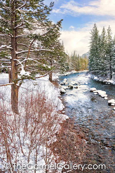 Clearing Storm Truckee River