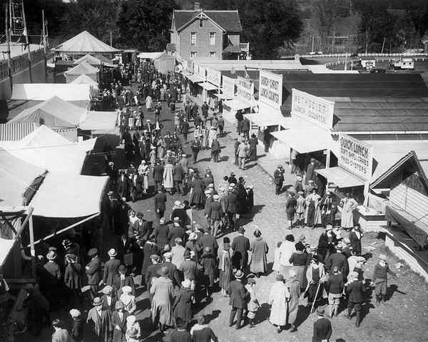 Danbury Fair Midway In 1878