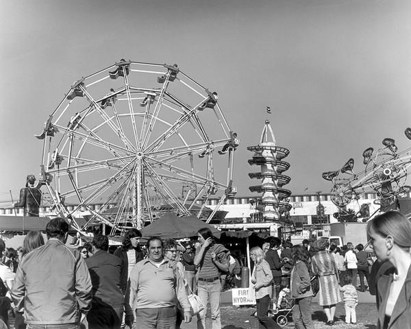 The Ferris Wheels At The Danbury State Fair