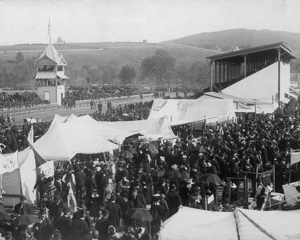 Horse Racing At The Danbury State Fair
