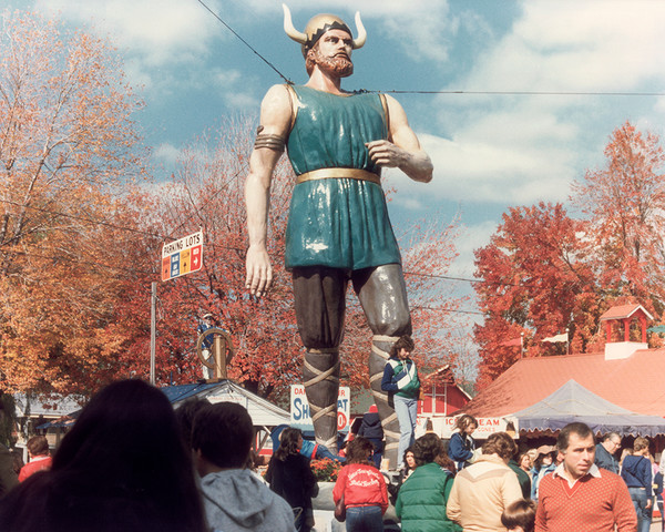 The Giant Norseman Statue