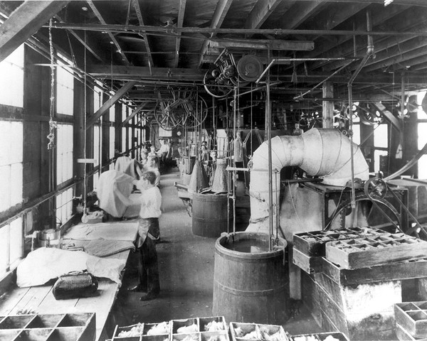 Hat Factory Forming Room