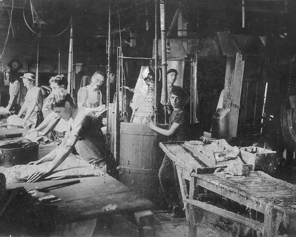 The Mallory Hat Factory Forming Department