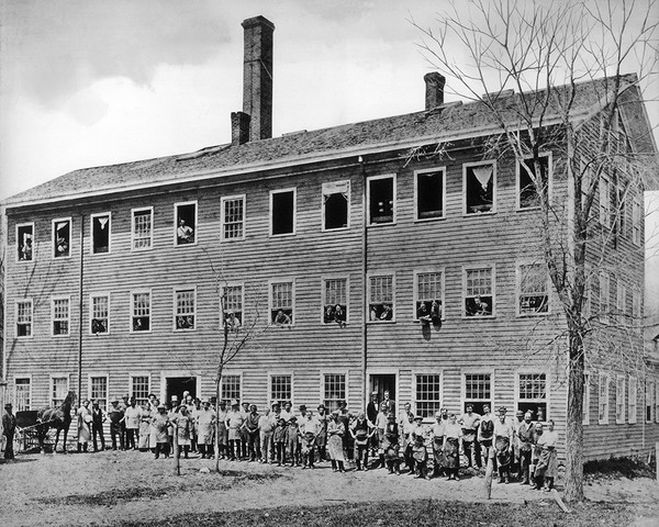 The Mallory Hat Factory Before 1884