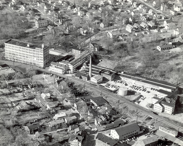 The Mallory Hat Factory Aerial View