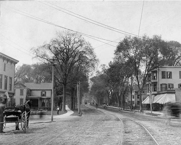 Original Danbury Trolley Tracks