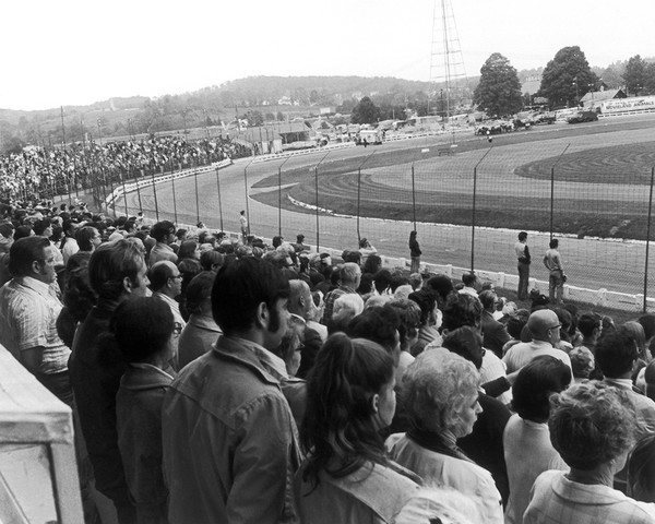 The Grandstand at the Racearena