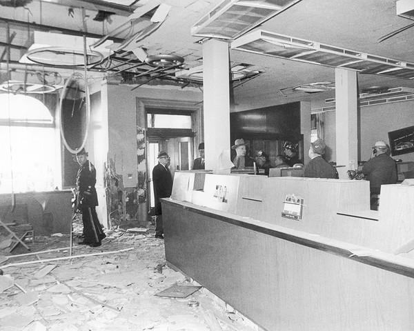 Interior Bomb Blast