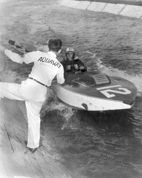 Speedboat Racing At The Fair