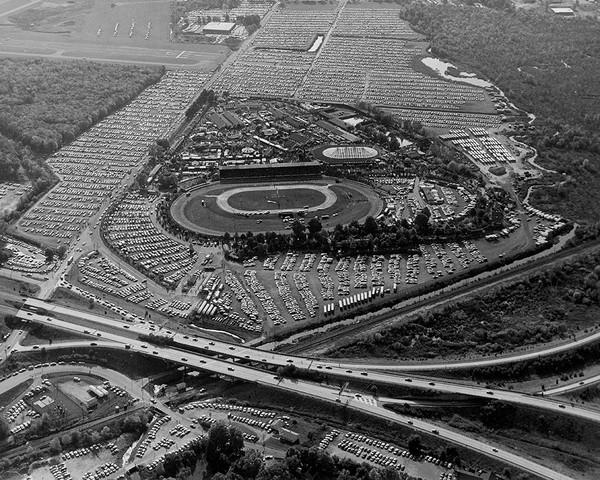 Danbury State Fair Aerial View