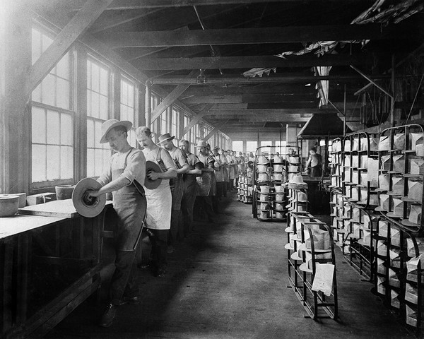 Hat Factory Finishing Room