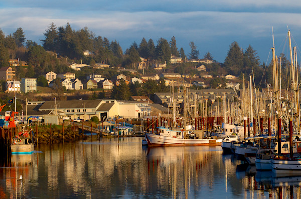 Afternoon Light in Newport, Oregon