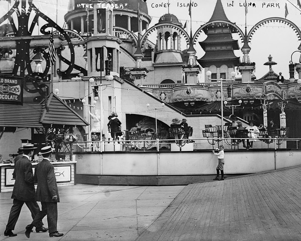 Coney Island In Luna Park