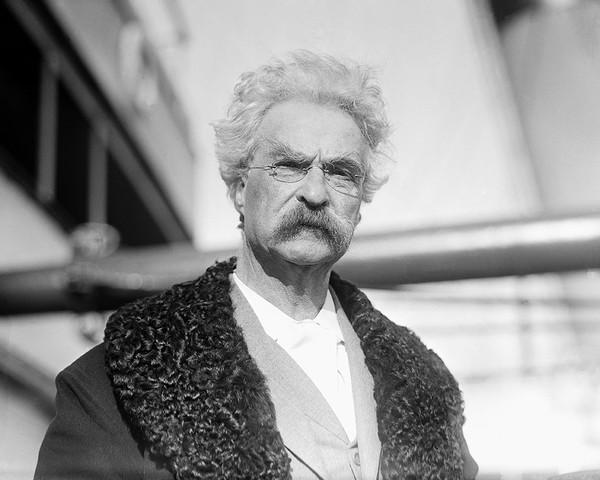 S.L. Clemens (aka Mark Twain)