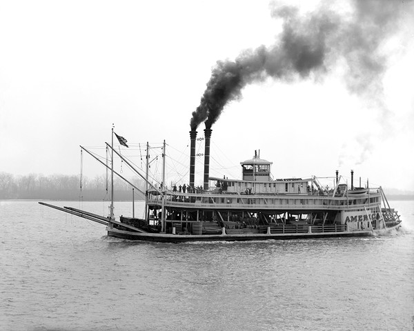 The America Mississippi River Boat