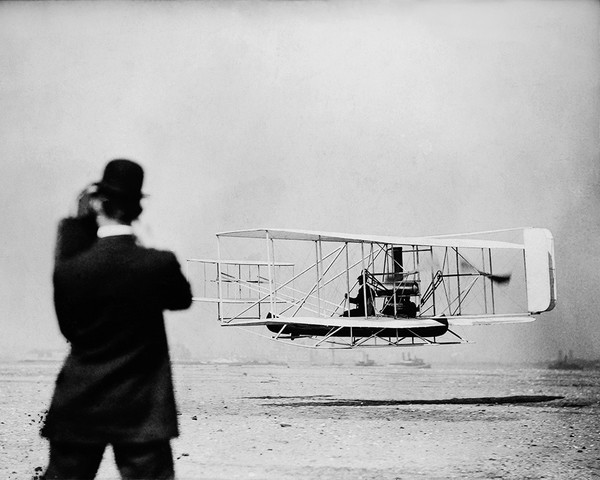 Wright Brothers New York Harbor Flight