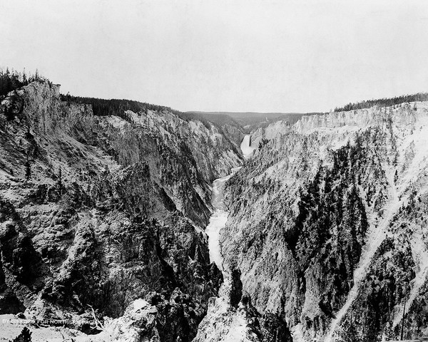The Great Fall of the Yellowstone River