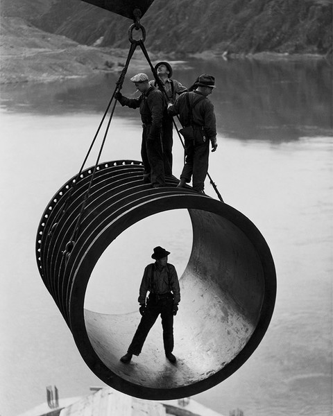Grand Coulee Dam Construction Workers