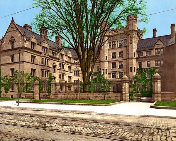 Vanderbilt Hall, Yale College