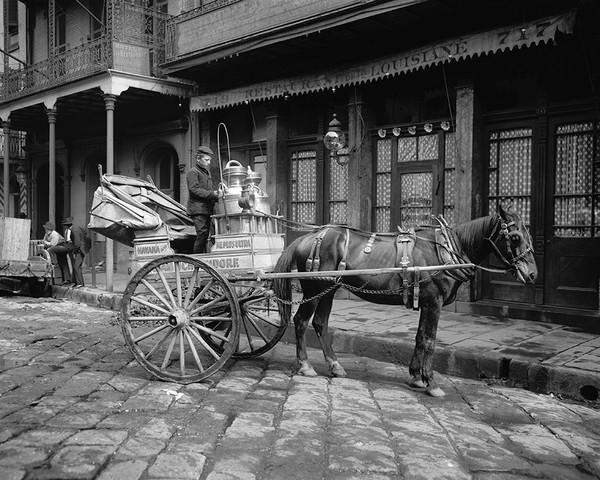 New Orleans Milk Cart