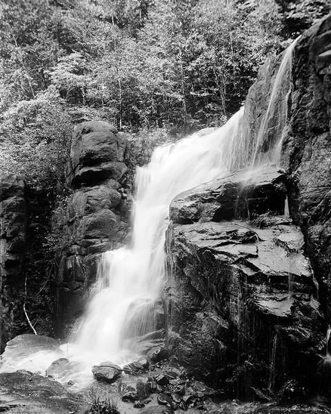 The Cascades In Franconia Notch, NH