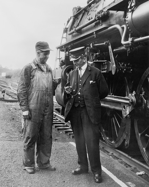 Railroad Conductor & Engineer