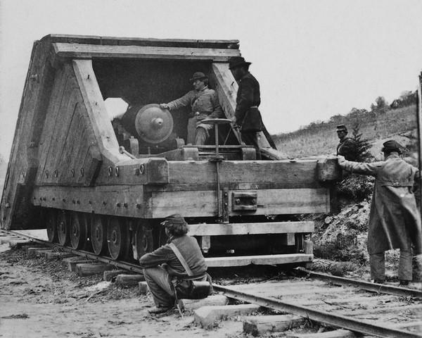 Railroad Battery Before Petersburg