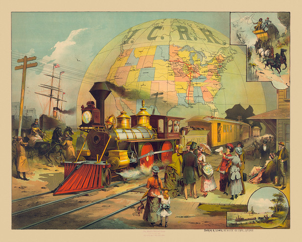 The World's Railroad Scene