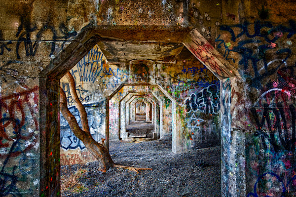 Graffiti Underground #2 Fine Art Photograph | JustBob Images