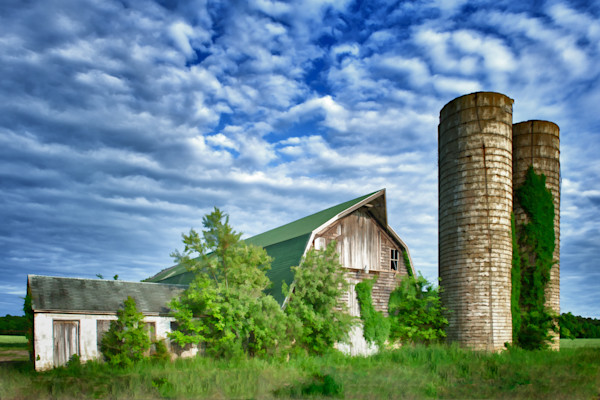Decaying Farm Fine Art Photograph | JustBob Images