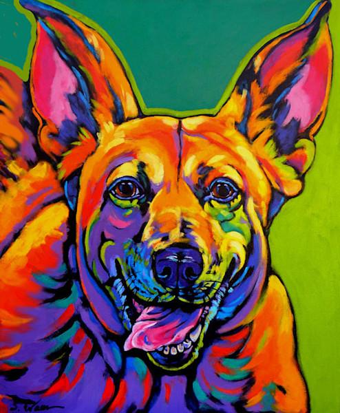 dogs, dog art, canine prints, colorful dog prints