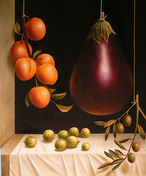 Still Life with Gooseberries