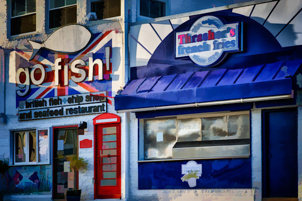 Fish and Chips Fine Art Photograph by Robert Lott