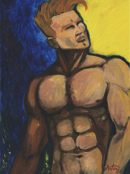 men,art,gyclee,painting,reproduction,anton uhl