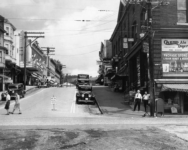 Bank Street & Railroad Street