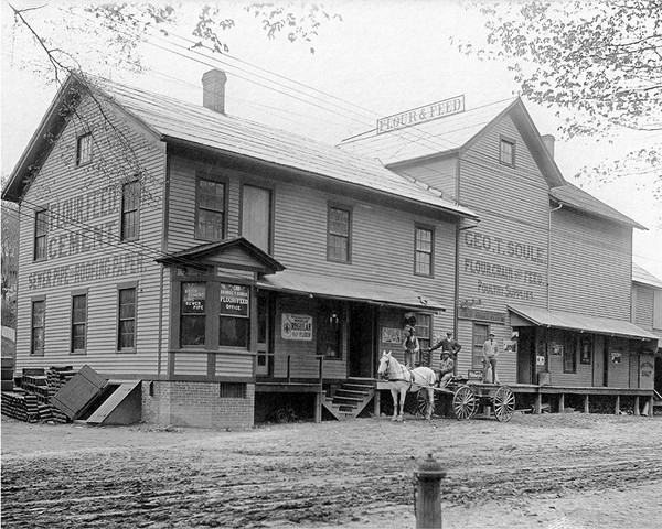 The George Soule Feed Store