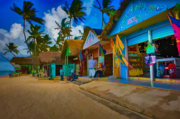 Beach Shops #17 Fine Art Photograph | JustBob Images
