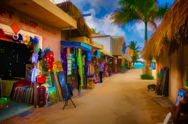 Beach Shops #13 Fine Art Photograph by Robert Lott