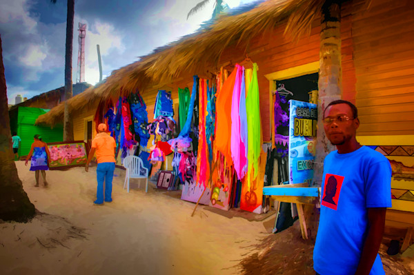Beach Shops #22 Fine Art Photograph by Robert Lott