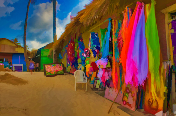 Beach Shops #23 Fine Art Photograph | JustBob Images